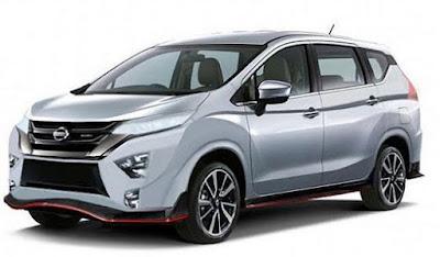 Nissan Livina Kembaran Xpander Pertama Kali Muncul