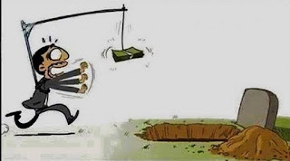 hidup mengejar uang