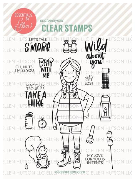 Woodsy Lady stamp set