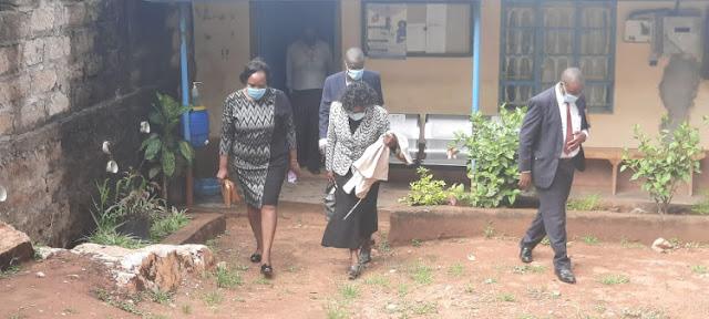 ABC Kiseveni Secondary School principal Betta Mutuku
