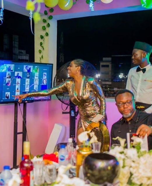 See photos of 2Baba, his wife Annie, and his kids at his 45th birthday party