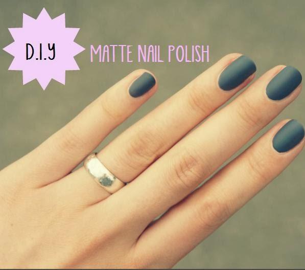 Younique by Kristen Morton: DIY: Matte Nail Polish!