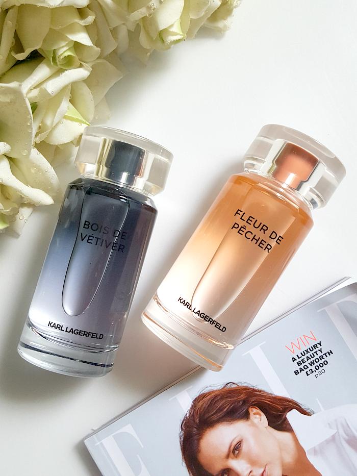 Review: Karl Lagerfeld - Fleur de Pècher & Bois de Vetiver Parfums 1