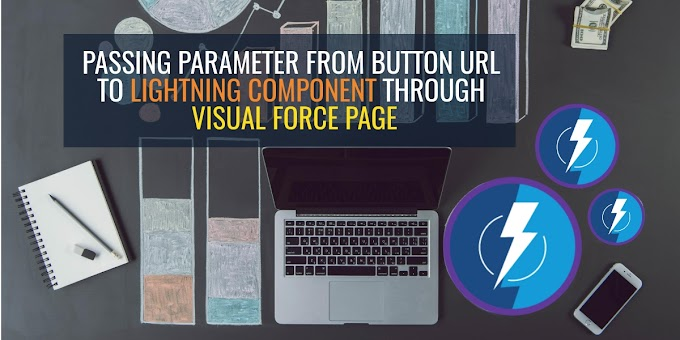 Passing parameter from button url to lightning component through visualforce page | How to add lightning component in visualforce page