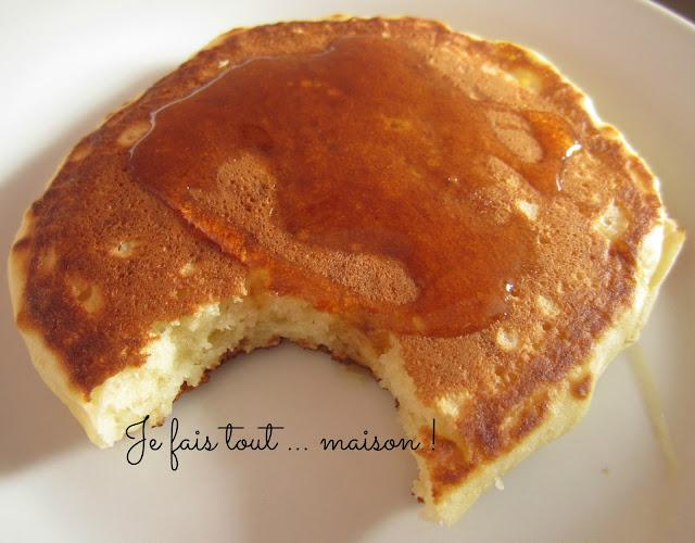 Les pancakes faciles de Martha Stewart