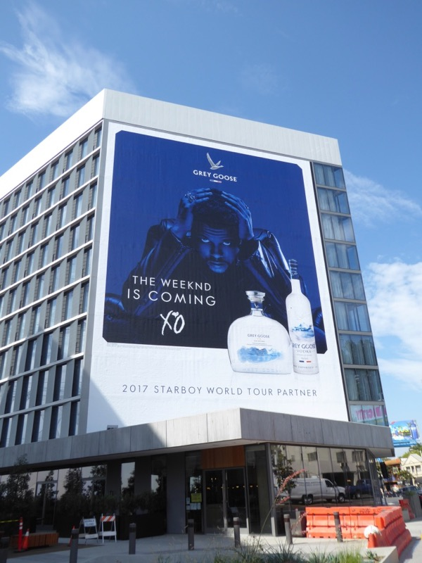 Grey Goose Weeknd Starboy Tour billboard