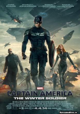 Captain America: The Winter Soldier 2014 BRRip 720p,1080p,480p Dual Audio