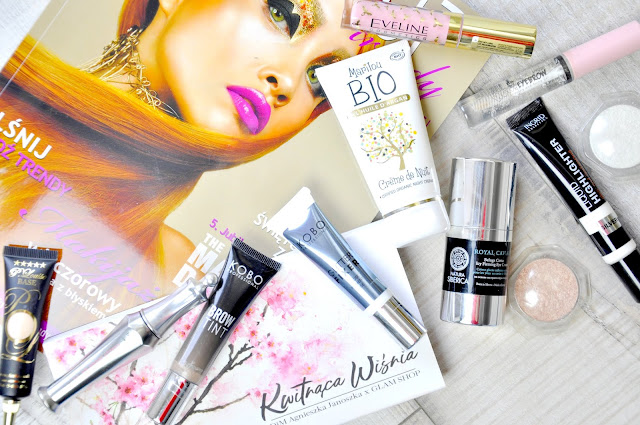 natura siberica, kobo, p.louise, ingrid, benefit, glamshop, my secret, eveline