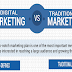 Digital Marketing vs. Traditional Marketing #infographic