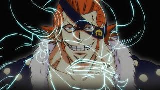 ワンピースアニメ   百獣海賊団 飛び六胞 X・ドレーク   ONE PIECE Beasts Pirates Tobiroppo
