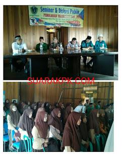 PD IPA Batu Bara Laksanakan Seminar dan Diskusi Tentang Valentine Day's Dalam Perspektif Islam