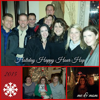 #holidayhop in Cleveland Flats East Bank, parties and Bedford Tree Lighting