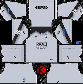 Atalanta B.C. 2019/2020 Kit - Dream League Soccer Kits