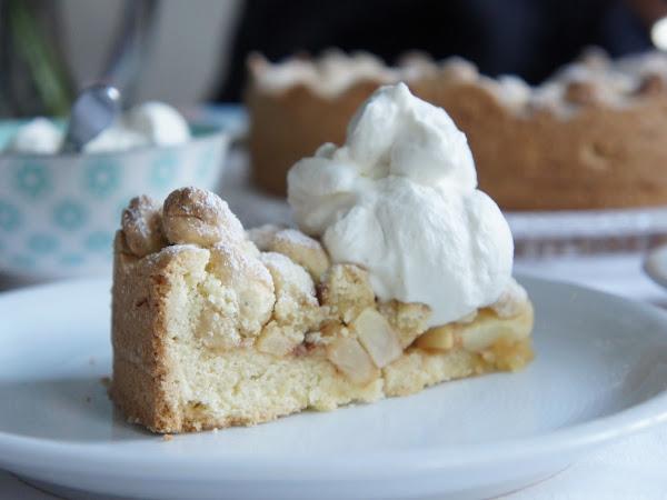 REZEPT: glutenfreier Apfel-Streusel-Kuchen