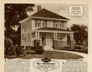 catalog image of Sears Gladstone model, 1930 catalog