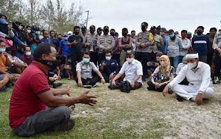 Bangka: Aksi penolakan aktivitas tambang produksi KIP, Wakil ketua DPR RI Dedi minta diselesaikan secepatnya