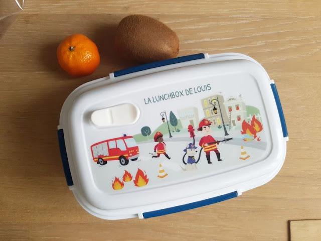 lunchbox personnalisée enfant
