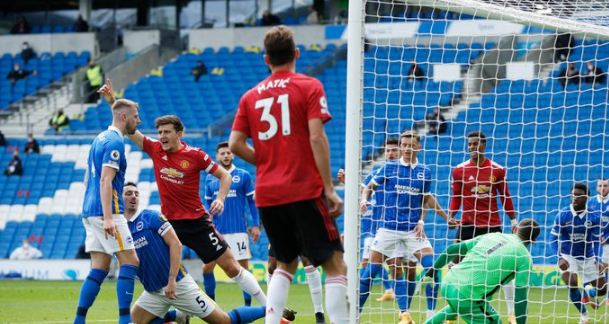 HT: Brighton & Hove Albion vs Manchester United 1-1 Highlights