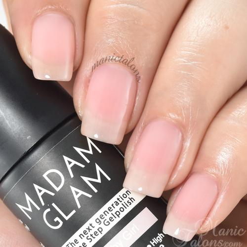Madam Glam Gel Polish Baby Girl Swatch