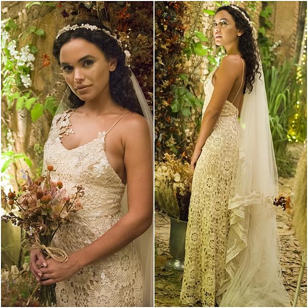 vestido de noiva cleo o outro lado do paraíso