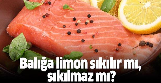 Balığa limon sıkılır mı sıkılmaz mı?