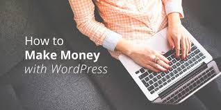 Find out how you can make money online using WordPress. Sandipan ... You can also make money by working on custom plugin projects. ... To get clients simply create a blog setup service page on your blog or website.  Do you also want to make money from it, isn't it? If you already have your blog website, it's awesome but if not create it today because it is the best ... How much income ... · Some popular and best ... · Become a Freelance ...Wondering how people make money blogging with a WordPress website? ... Or, maybe you already have a storefront and you want to take your ...websites, or just blog; you can make good money from WordPress. ... ready to get started, here are the many methods you can use to make . Ebooks can help in blogging for money ... Thus, creating and selling an ebook is already measurable and convenient. ... your WordPress website to make money through this ...