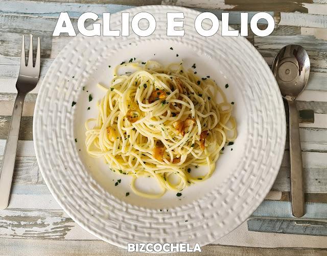Espaguetis Aglio E Olio