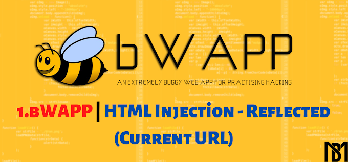 bWAPP | HTML Injection - Reflected (Current URL) Açığı