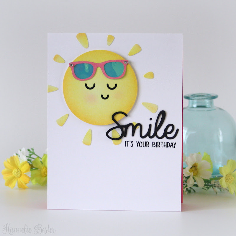 Summer birthday card