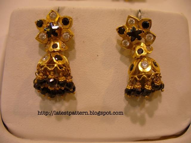 New Trends: Black Beads Earrings.......