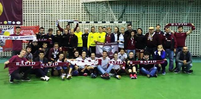 promovare rapid handbal volei feminin