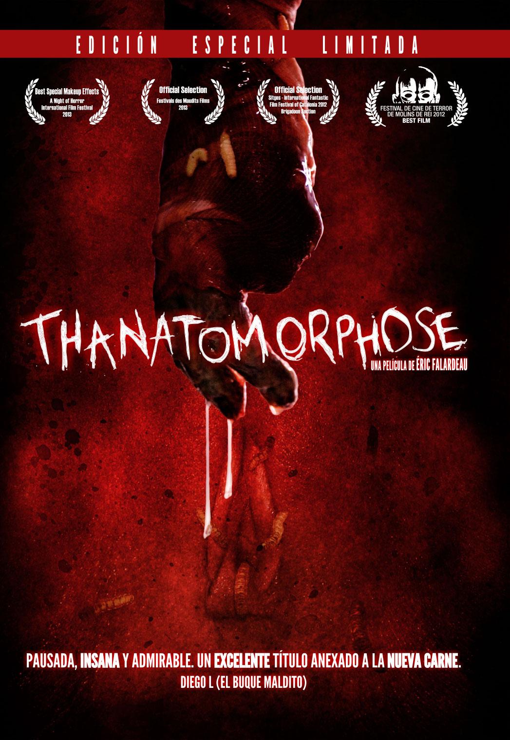 """Ya la venta en DVD """"Thanatomorphose"""" y nuevo impactante trailer"""
