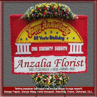 Anzalia Florist, Bunga Papan, Bunga Tangan