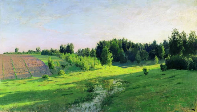 Исаак Ильич Левитан - Вечерние тени. 1891-1894