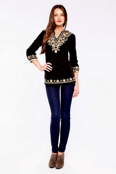 Embroidered u0026 Printed Tops | Fashion Tops for Girls 2013 - She9 | Change the Life Style
