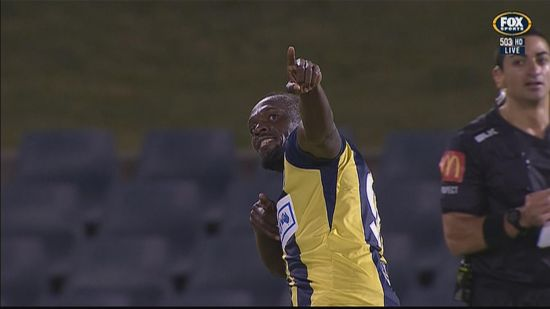 Usain Bolt Signs Professional Football Contract With Central Coast Mariners