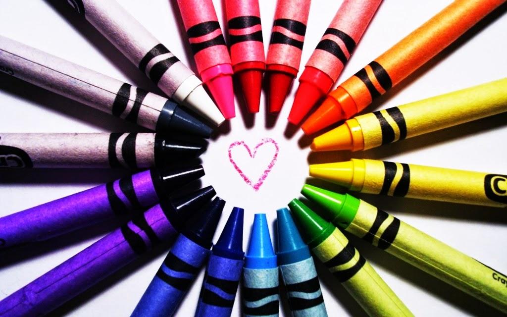 Tehnik Mewarnai Gambar Dengan Crayon