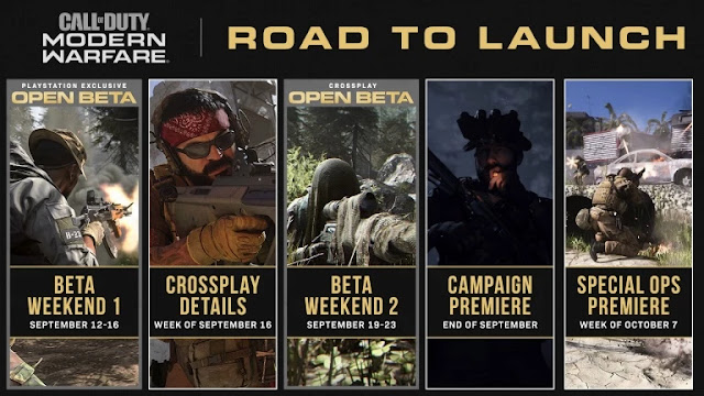رسميا أكتفيجين تحدد موعد تقديم طور القصة للعبة Call of Duty Modern Warfare
