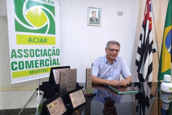 Presidente da ACIAR reivindica ao governo imediata  revisão de fase da região de Registro-SP no Plano SP