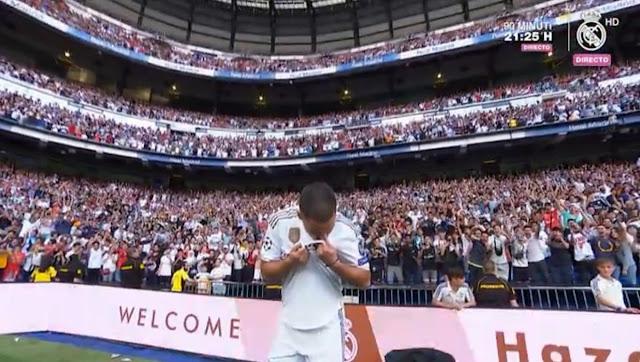 رسميًا: ريال مدريد يقدم إيدين هازارد في البرنابيو