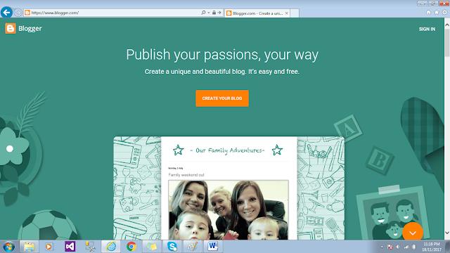Basit adımlarla Blogger'la ücretsiz bir blog nasıl başlatılır