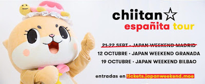 Chiitan, tras su debut en Madrid, continúa su tour por Granada y Bilbao con Japan Weekend.