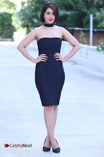 Actress Raashi Khanna Latest Pictures in Black Short Dress  0006