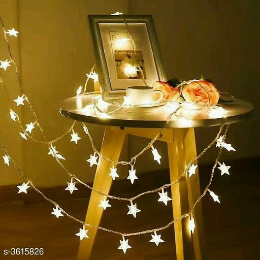 Led String Battery USB Ball String Lights Baby's Breath Christmas Lights Stars Red Ins Decorative Lights