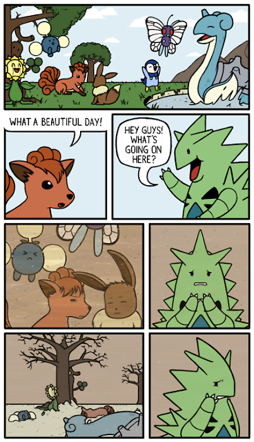 Funny sandstorm Pokemon comic
