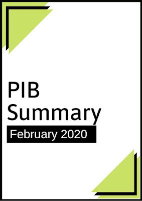 PIB Summary: February 2020