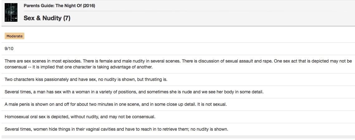 Pornography is all nudity and sex acts in viewable material