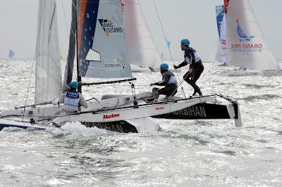 Quentin Delapierre et Lorina vainqueurs du Spi Ouest France 2018 en Diam 24