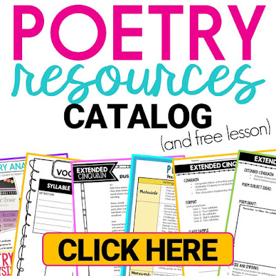 Ways to teach poetry and poems to students in the middle school classroom.