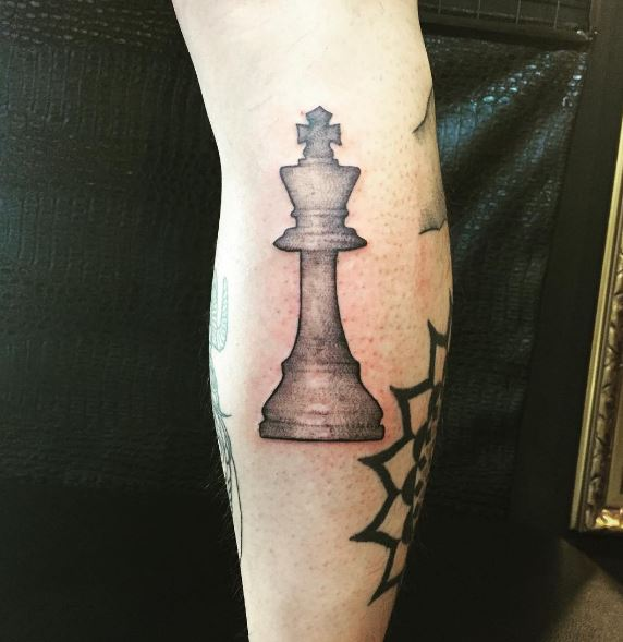 King Chess Piece Tattoo Meaning